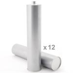 Bild von KLEIBERIT 707.9.10 Reaktiver PUR-Schmelzklebstoff weiß - Karton mit 12 Kartuschen je 0,3 kg